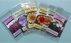 Clear Seed Packets