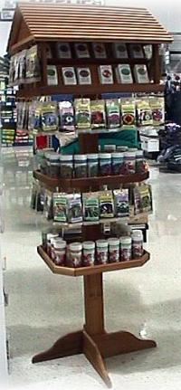 Large Birdhouse Retail Display