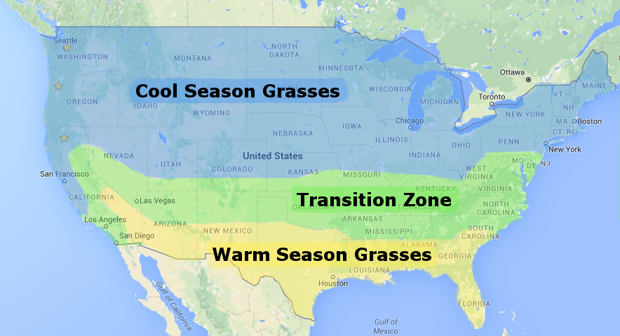 Grass Season Map